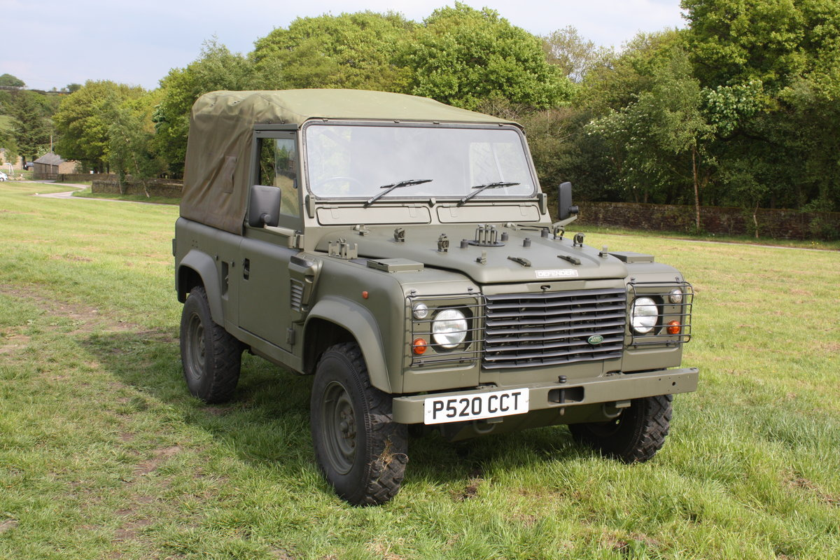 1997 Land Rover Defender 90 WOLF Soft Top  For Sale (picture 2 of 10)