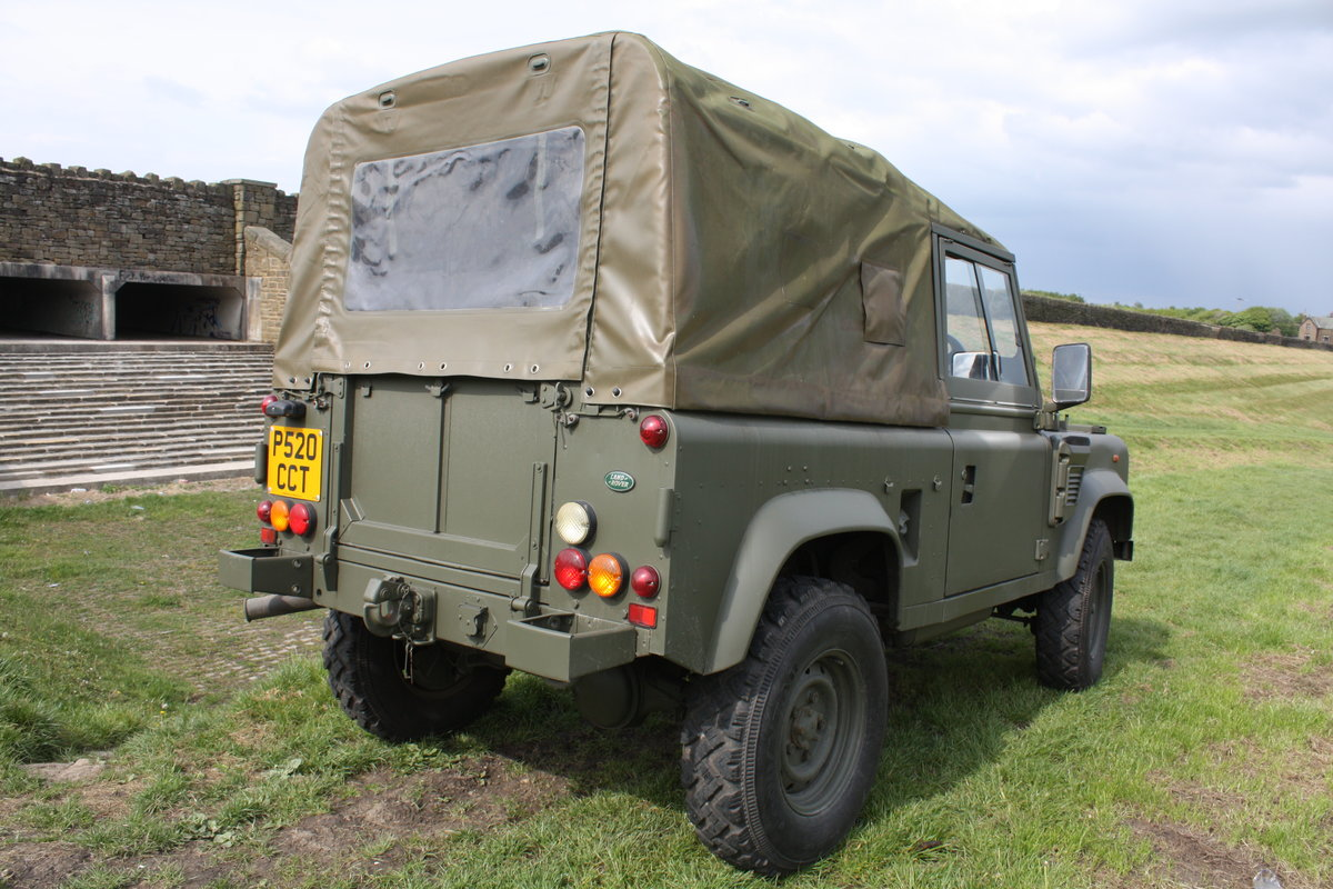 1997 Land Rover Defender 90 WOLF Soft Top  For Sale (picture 3 of 10)