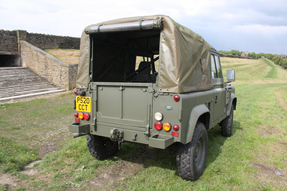 1997 Land Rover Defender 90 WOLF Soft Top  For Sale (picture 4 of 10)