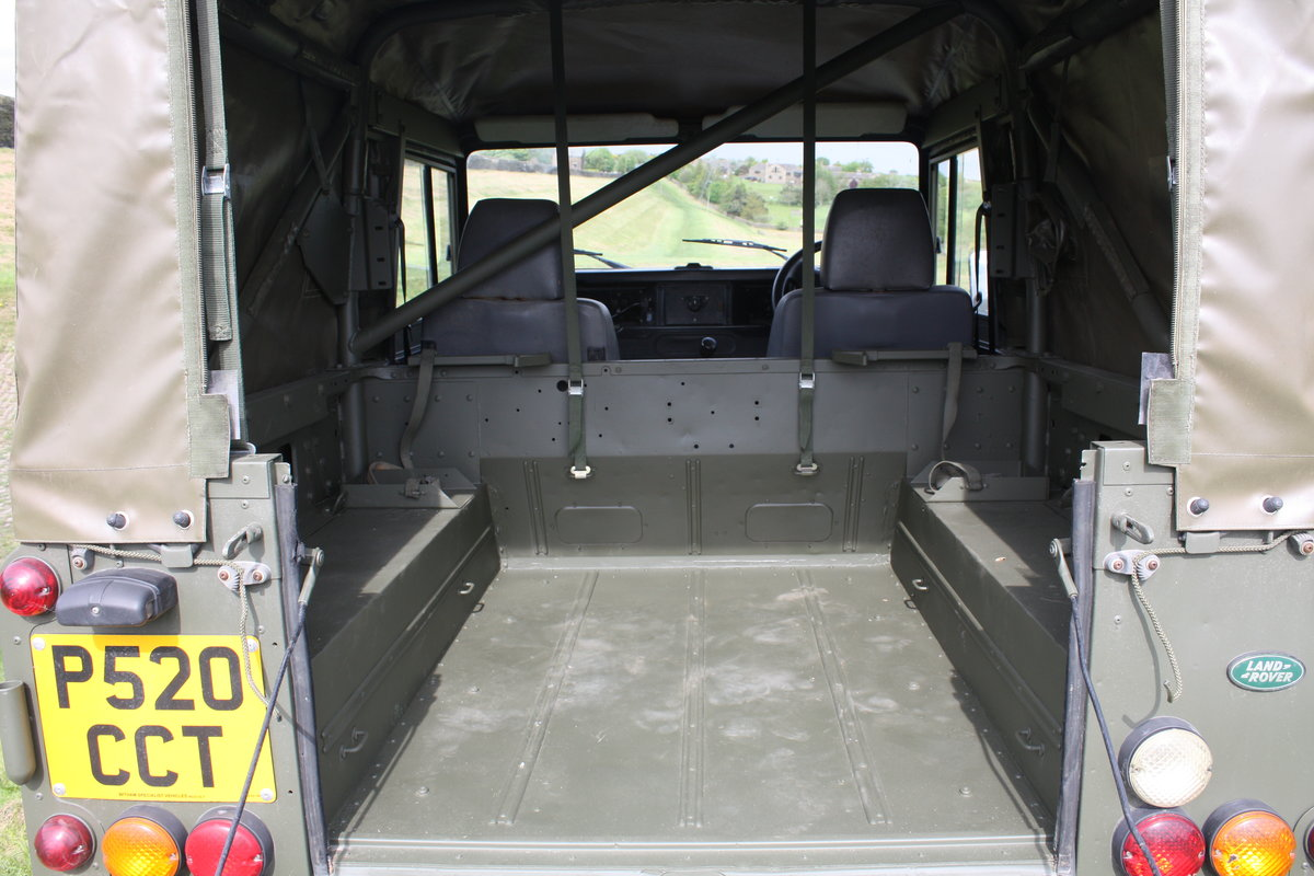 1997 Land Rover Defender 90 WOLF Soft Top  For Sale (picture 6 of 10)