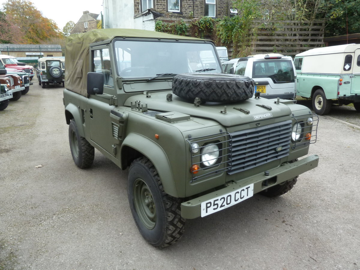 1997 Land Rover Defender 90 WOLF Soft Top  For Sale (picture 7 of 10)