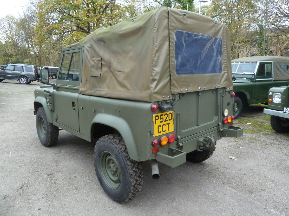 1997 Land Rover Defender 90 WOLF Soft Top  For Sale (picture 8 of 10)