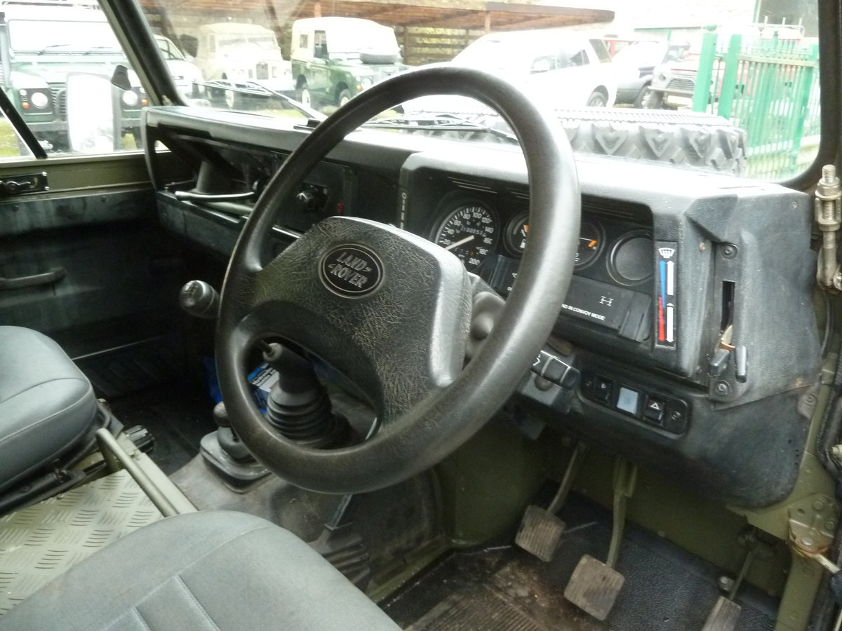 1997 Land Rover Defender 90 WOLF Soft Top  For Sale (picture 9 of 10)