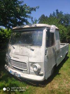1977 Peugeot J7 Pickup Van Original Classic French
