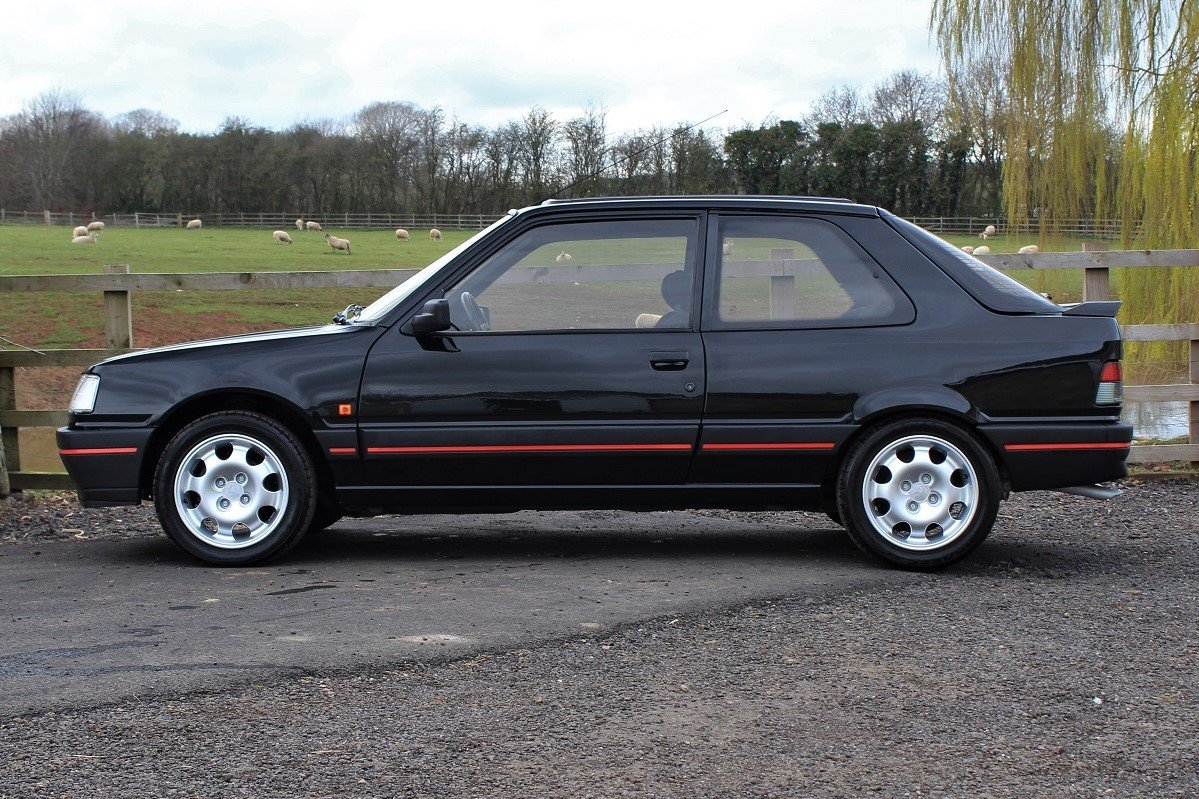 1990 Peugeot 309GTI 3dr,Factory a/c ,54,903 miles For Sale (picture 2 of 6)