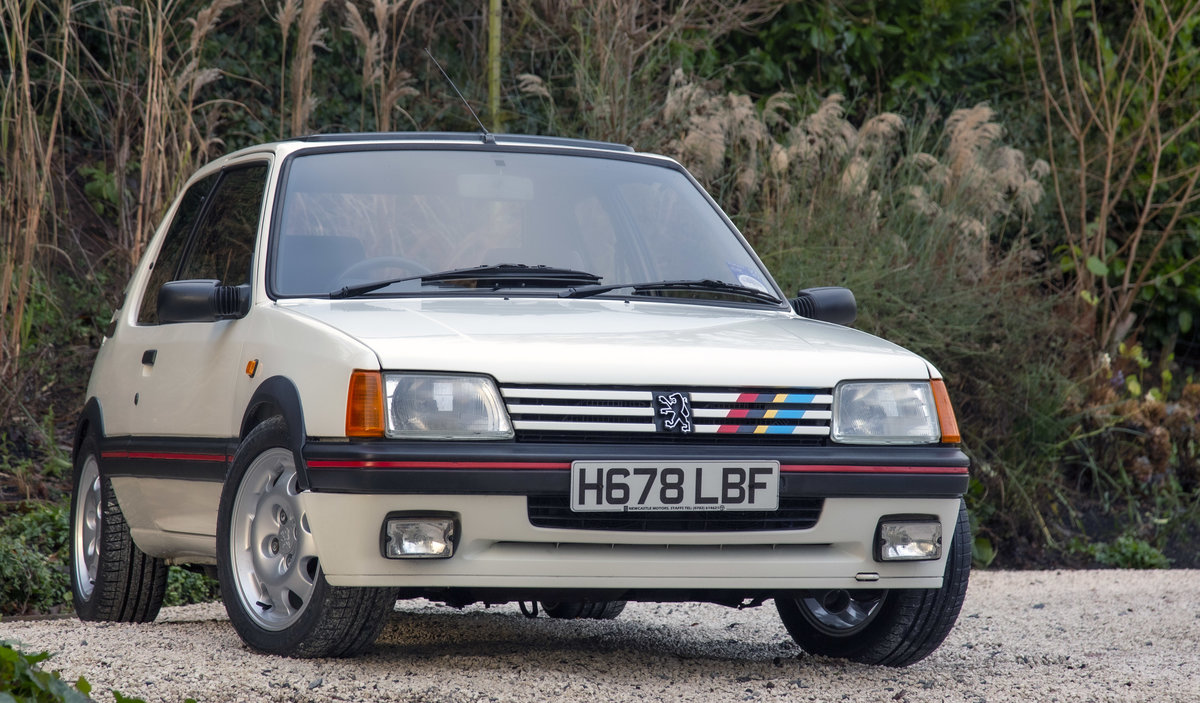 1991 Peugeot 205 GTI 1.9 enhanced by Skip Brown (2008) SOLD (picture 1 of 6)