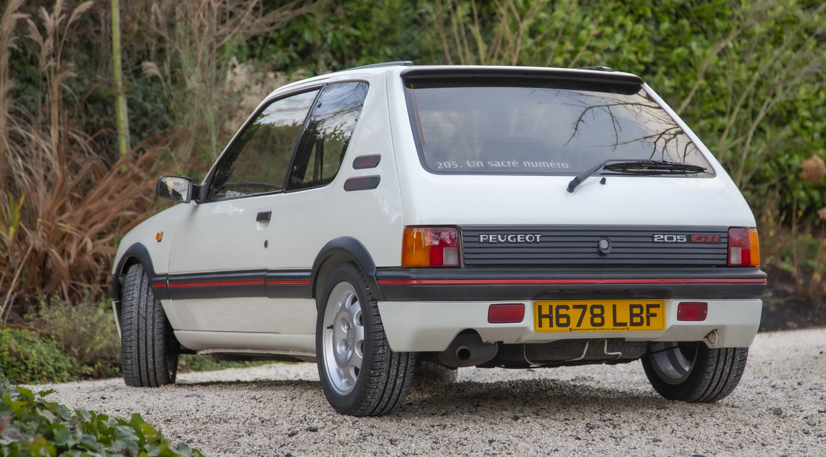 1991 Peugeot 205 GTI 1.9 enhanced by Skip Brown (2008) For Sale (picture 3 of 6)