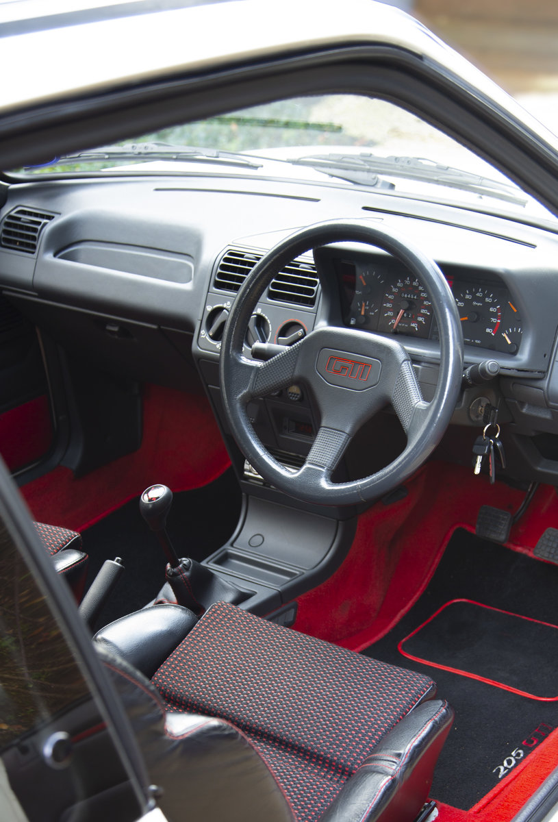 1991 Peugeot 205 GTI 1.9 enhanced by Skip Brown (2008) For Sale (picture 5 of 6)
