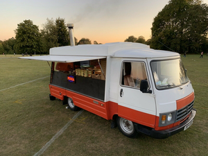1982 Peugeout J9 Catering Pizza Van