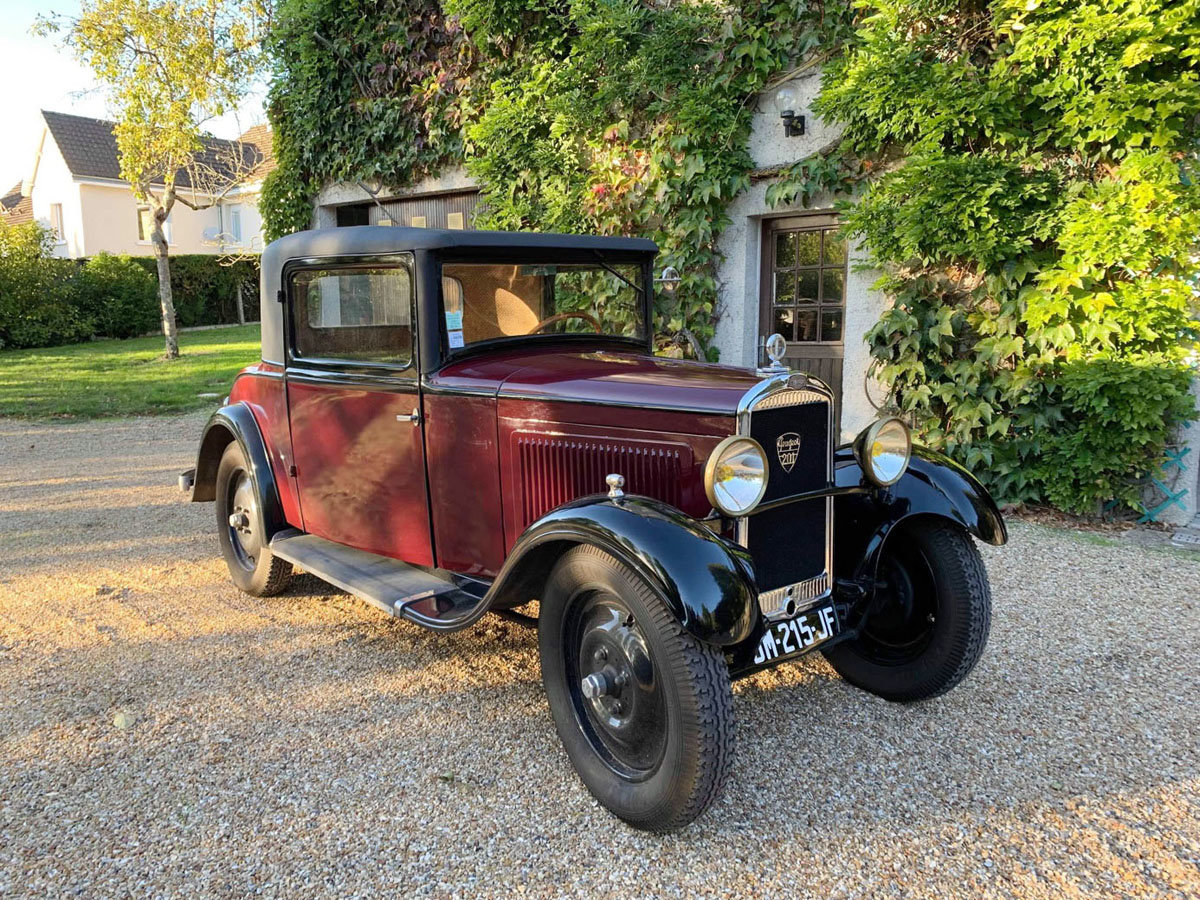 1930 Peugeot 201 17 Jan 2020 For Sale by Auction (picture 1 of 6)