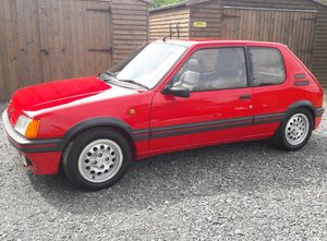 1990 Peugeot 205 1.6 GTi at ACA 25th January  For Sale