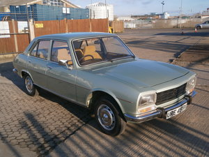 1981 PEUGEOT 504 1.8 GR - ONE OWNER - 37,000 MILES ONLY