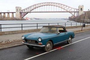 # 23177 Barn-Find 1967 Peugeot 404 Cabriolet