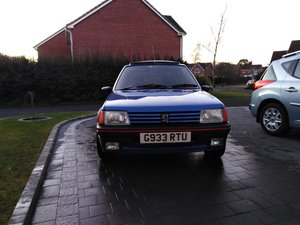 1990 Peugeot 205 1.9 GTI For Sale