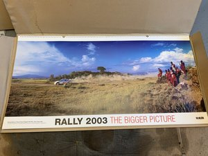 The Bigger Picture WRC 2003 Calendar McKlein