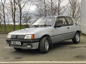 1989 Peugeot 205 xs 83k For Sale