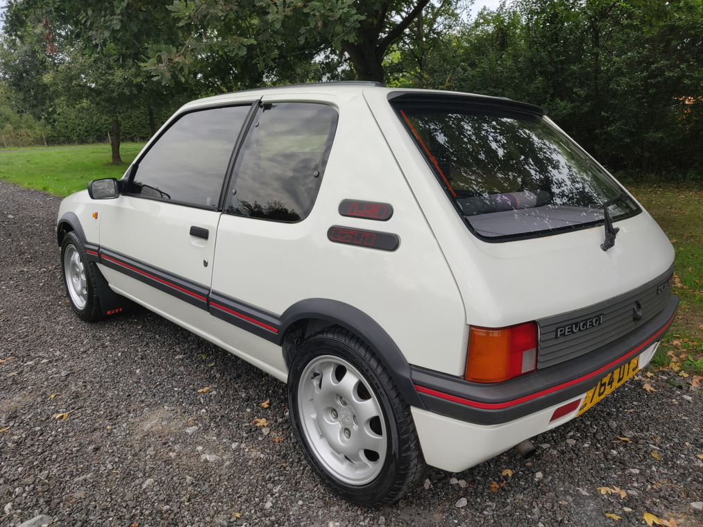 1988 205 gti 1.9 - phase 1.5 - just 49k miles on clock For Sale (picture 2 of 4)