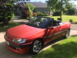 1999 306 cabriolet For Sale