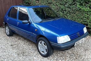 1995 Peugeot 205 D Turbo - Mardi Gras For Sale