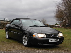 2005 Volvo C70 T5 Collection Auto Cab 72k+FSH+2 Keepers SOLD