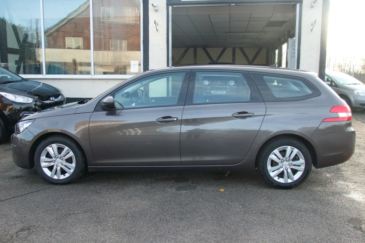 2015 PEUGEOT 308 1.6 HDI S/S SW ACTIVE 5DR SOLD (picture 2 of 6)