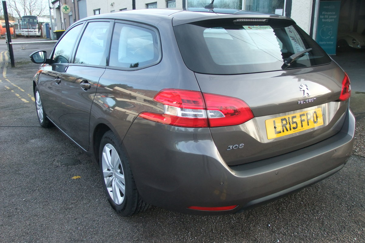 2015 PEUGEOT 308 1.6 HDI S/S SW ACTIVE 5DR SOLD (picture 3 of 6)