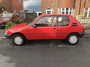 1990 Peugeot 205 XR 67000 miles
