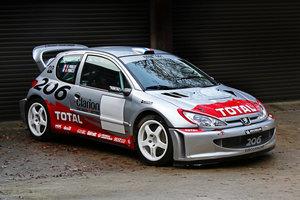 Peugeot 206 WRC Ex Timo Salonen, Ari Vatanen, Gilles Panizzi