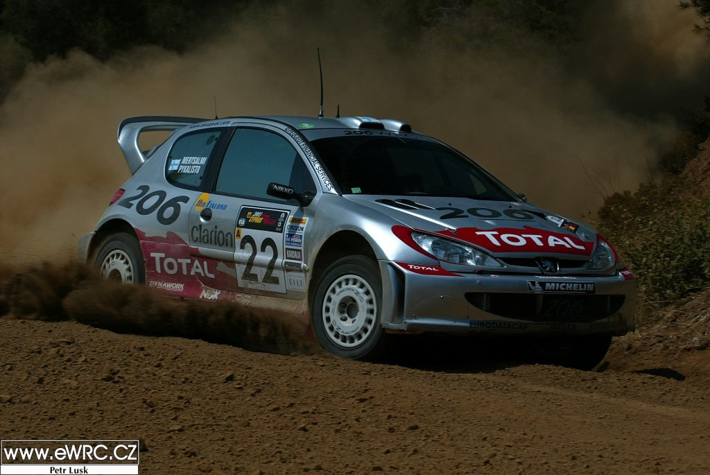 2002 Peugeot 206 WRC Ex Timo Salonen, Ari Vatanen, Gilles Panizzi For Sale (picture 2 of 6)