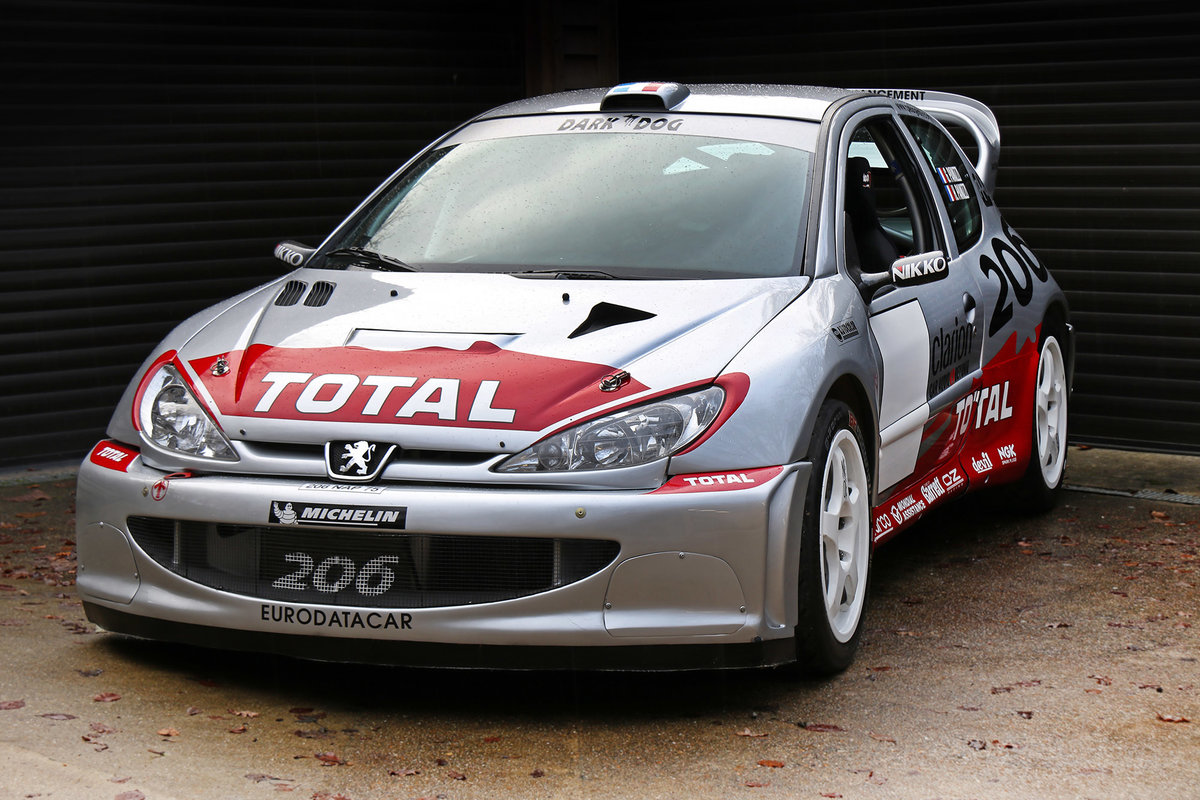 2002 Peugeot 206 WRC Ex Timo Salonen, Ari Vatanen, Gilles Panizzi For Sale (picture 3 of 6)