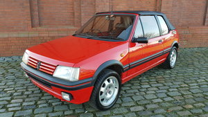 1995 PEUGEOT 205 CTI 1.9 CABRIOLET AUTOMATIC RARE COLLECTOR CAR For Sale