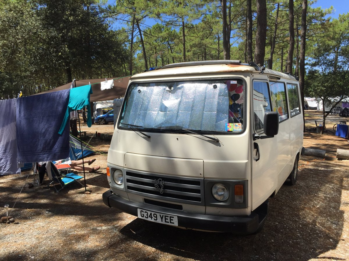 1990 Peugeot J9 Camper Van For Sale (picture 2 of 6)
