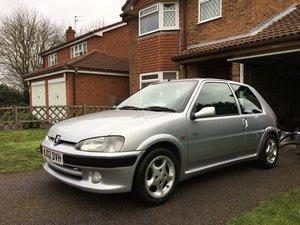 2002 Peugeot 106 Quiksilver For Sale