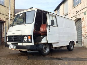1982 Peugeot J9 Van - LHD - UK Registered