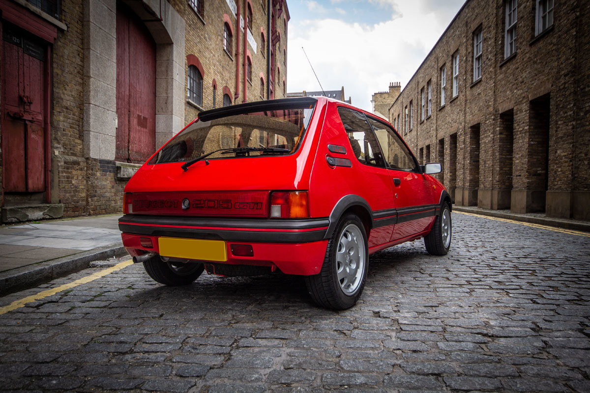 1988 Peugeot 205 GTi 22 Feb 2020 For Sale by Auction (picture 2 of 6)