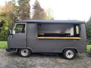 1990 Peugeot J9 Coffee van / food van