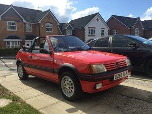 1986 Peugeot 205 CTI cabriolet