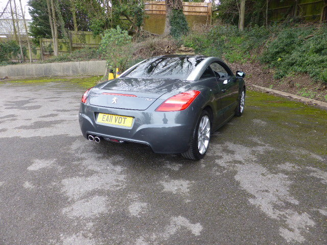 2011 Unblemished Peugeot RCZ GT THP 156 Automatic For Sale (picture 3 of 4)