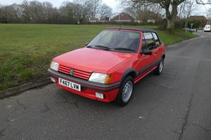 Peugeot 205 CTI 1989 - To be auctioned 24-04-20