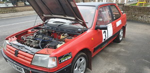 1989 Peugeot 309 Rally Car SOLD by Auction