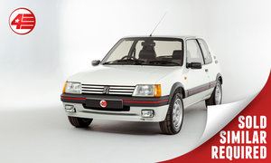 1988 Peugeot 205 GTI 1.9 /// Just 5,783 Miles From New! SOLD
