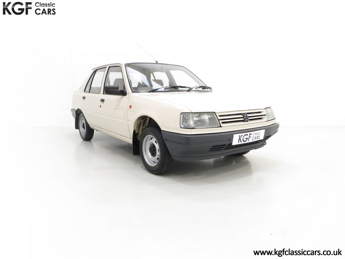 1987 An Early Peugeot 309 GE with an Incredible 16,437 Miles SOLD (picture 1 of 6)