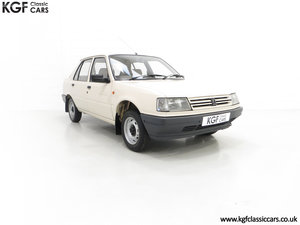 1987 An Early Peugeot 309 GE with an Incredible 16,437 Miles SOLD