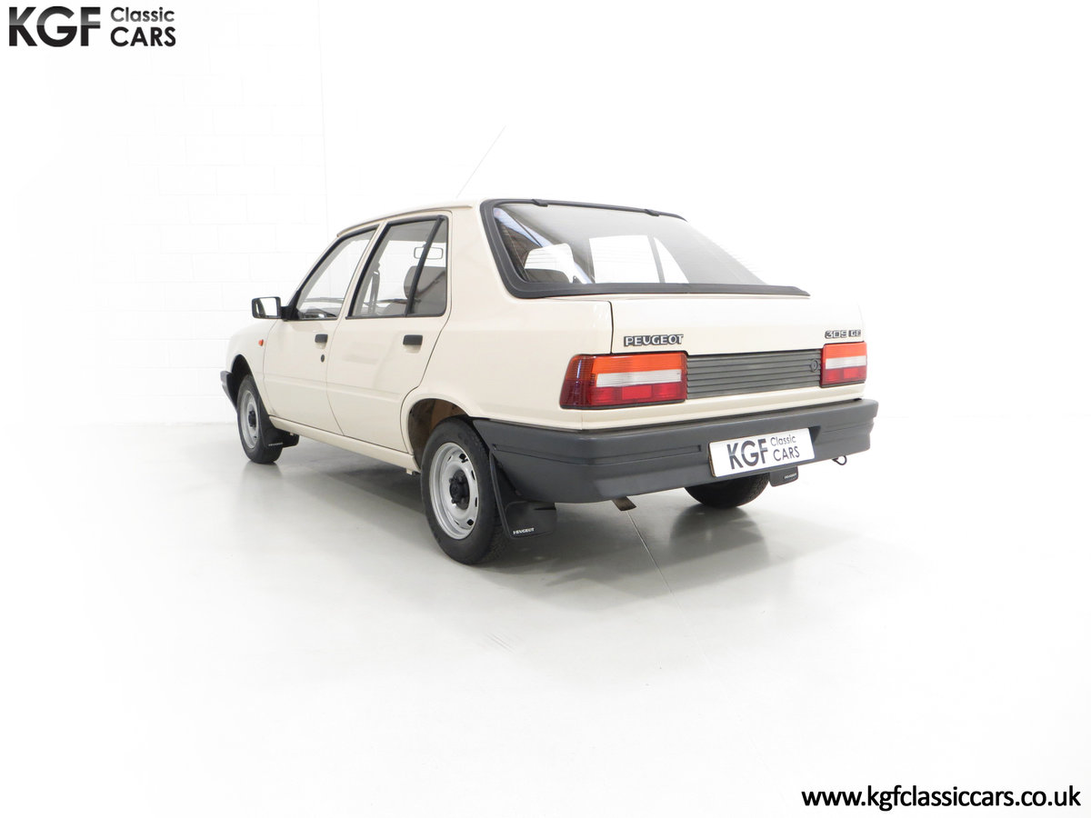 1987 An Early Peugeot 309 GE with an Incredible 16,437 Miles SOLD (picture 4 of 6)