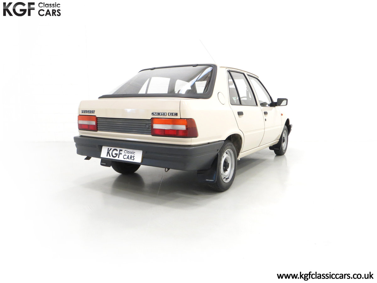 1987 An Early Peugeot 309 GE with an Incredible 16,437 Miles SOLD (picture 5 of 6)