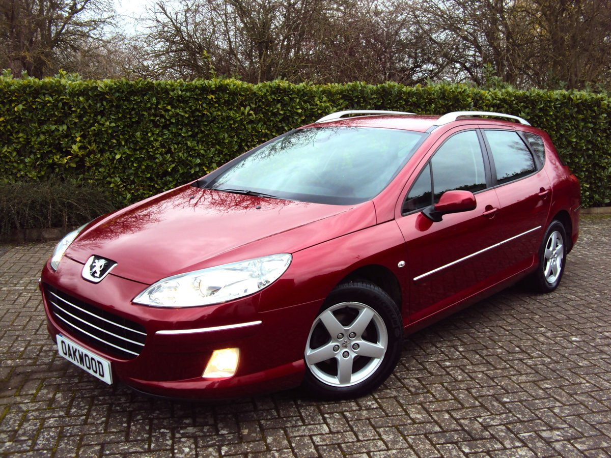 An EXCEPTIONAL Low Mileage 2009 Peugeot 407 SW Estate FMDSH For Sale (picture 1 of 6)
