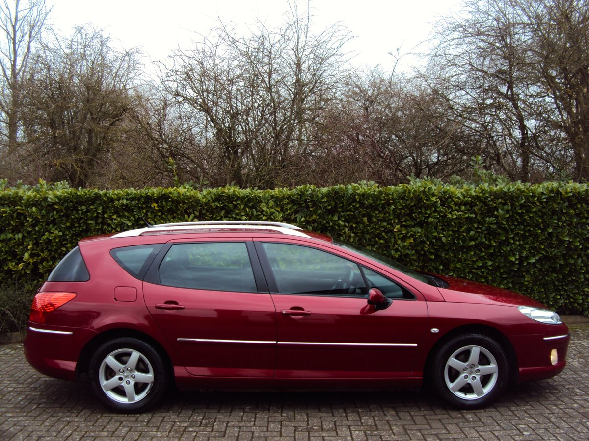 An EXCEPTIONAL Low Mileage 2009 Peugeot 407 SW Estate FMDSH For Sale (picture 2 of 6)