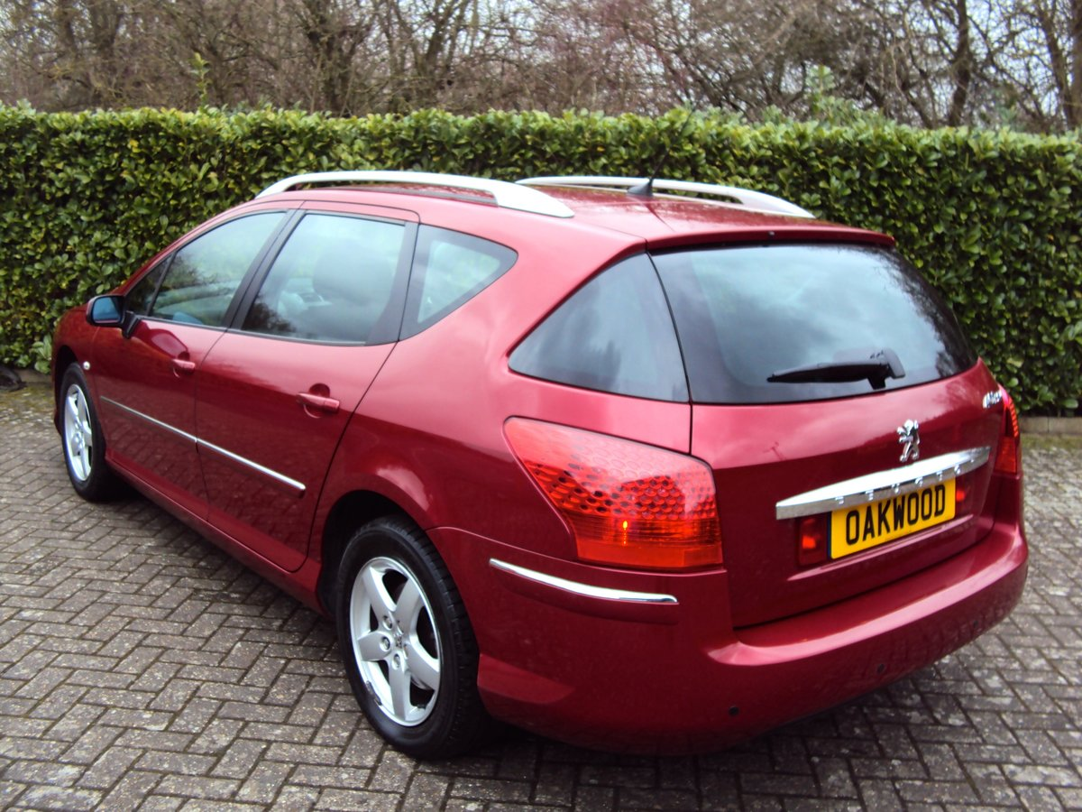 An EXCEPTIONAL Low Mileage 2009 Peugeot 407 SW Estate FMDSH For Sale (picture 3 of 6)