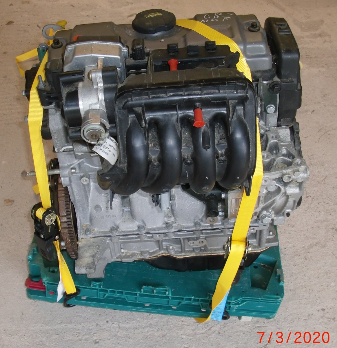 2004 PEUGEOT 1.4 PETROL ENGINE, ( NEW ) For Sale (picture 2 of 5)