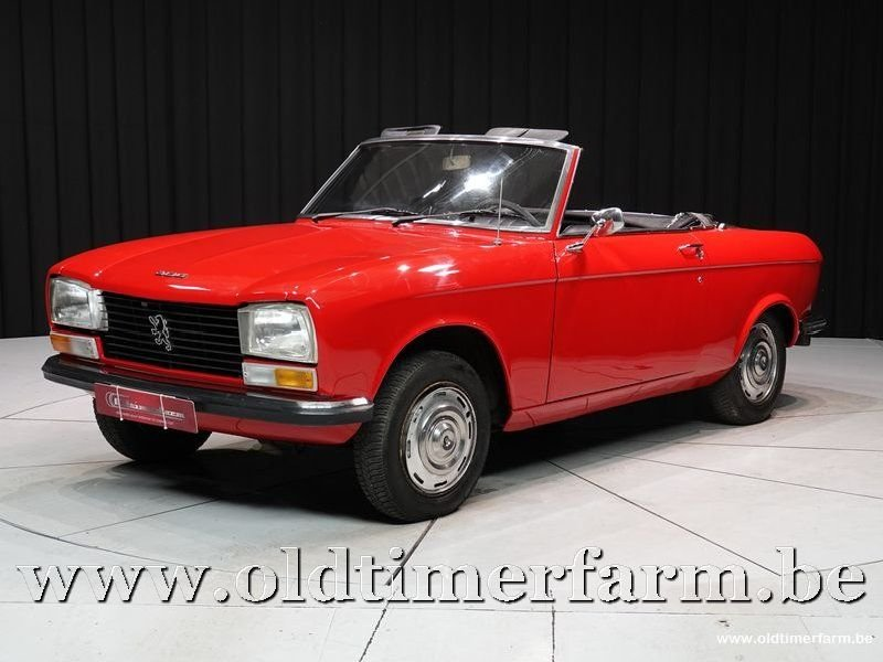 1973 Peugeot 304 Cabriolet '73 For Sale (picture 1 of 6)